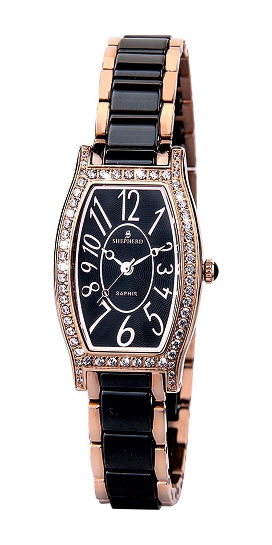 SHEPHERD Keramik Damen Armbanduhr 60403