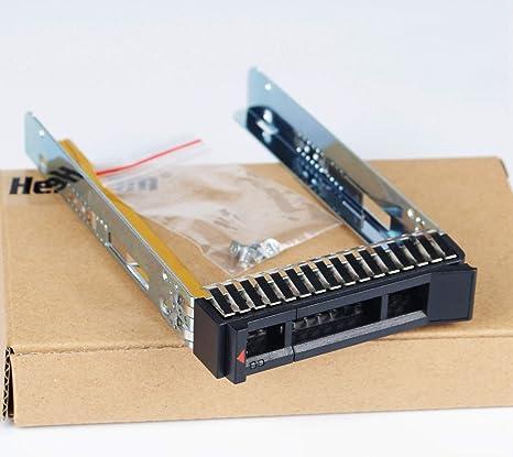 Heretom - Bandeja de Disco Duro para Lenovo ThinkSystem SR250 (2,5 ...