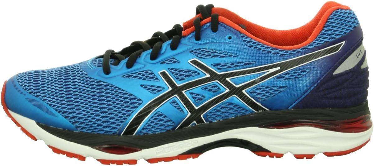 ASICS Gel-Cumulus 18, Zapatillas de Running para Hombre, Azul (Island Blue / Black / Vermilion), 41.5 EU: Amazon.es: Zapatos y complementos