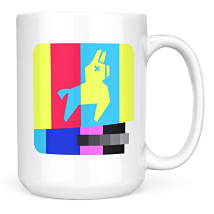 Amazon Com Fortnite Gifts Kids Men Boys Fortnite Mug Llama