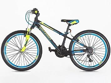 Junior bicicleta de montaña 24 pulgadas ruedas Shimano Gear 21 de ...