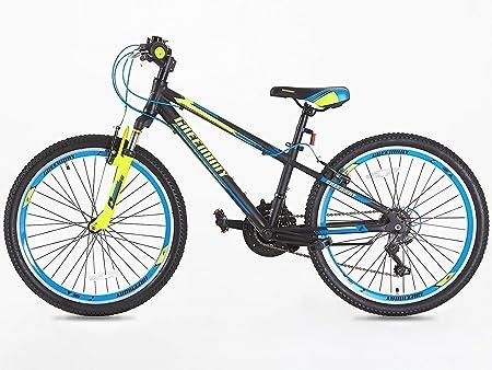 Junior bicicleta de montaña 24 pulgadas ruedas Shimano Gear 21 de de edad 9 Plus-: Amazon.es: Deportes y aire libre