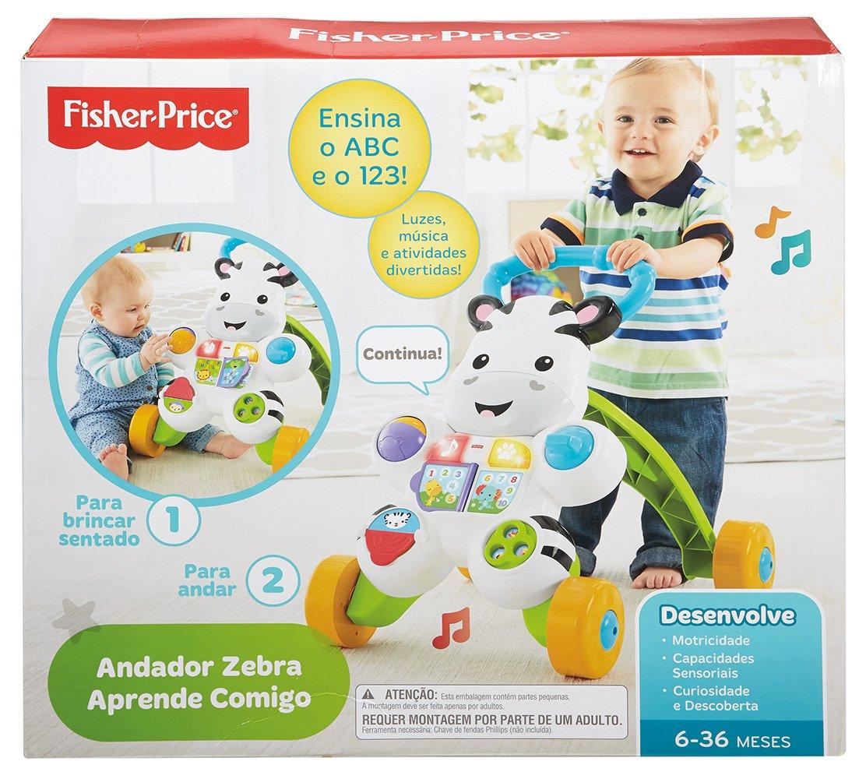 Fisher-Price - Andador perrito primeros pasos (portugués) (Mattel ...