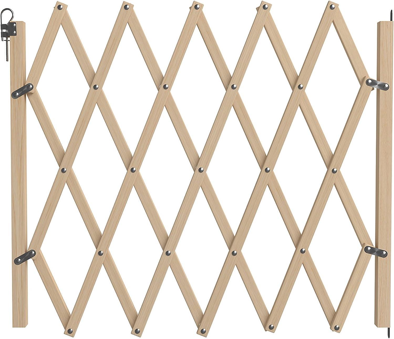 Nordlinger Pro 742000Stop'Fix–Barrera para animales de madera extensible