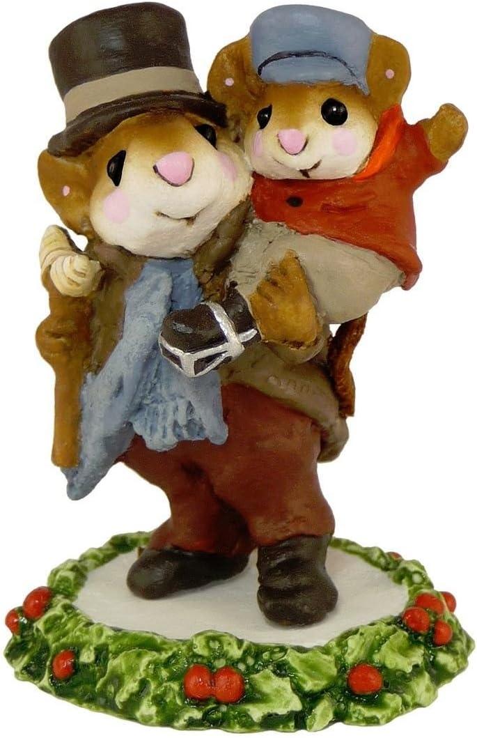 Wee Forest Folk CC-2 Bob Cratchit Tiny Tim