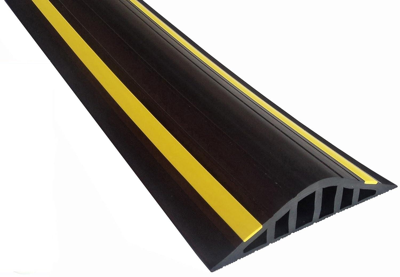 Weather Stop WS013-200 2.21 m x 40 mm High Garage Door Seal/Flood Barrier Kit - Black