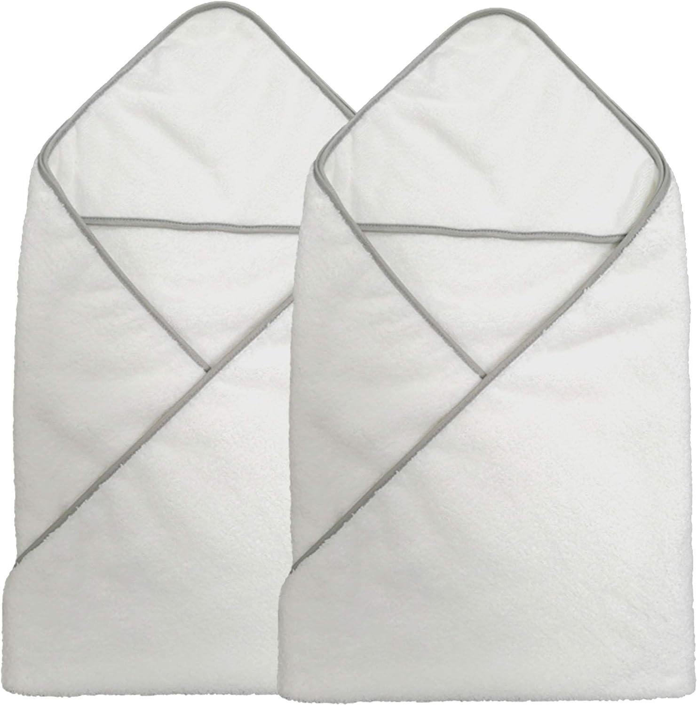 Blanco Antipelusa Toalla de microfibra hipoalerg/énica para beb/és 33 x 33/cm Premium Pack de 10 Polyte