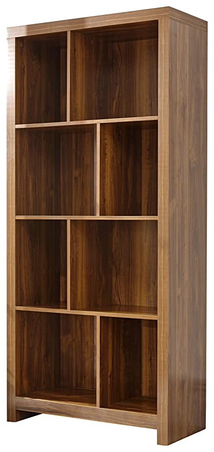 sneakers for cheap ec294 1ad7d Hampton Warm Acacia Tall Shelf Unit - Unique Design: Amazon ...