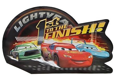 Xl 3 D Effekt Disney Auto Cars Wand Bild Turschild
