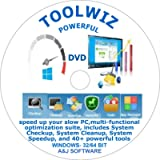 Toolwiz( DVD) is a toolkit designed to speed up your slow PC.With a multi-functional optimization suite, compatible to…