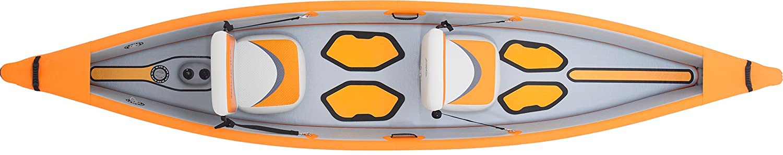 AQUAMARINA Kayak Hinchable Alta Presion Tomahawk 2 Plazas 1311 ...