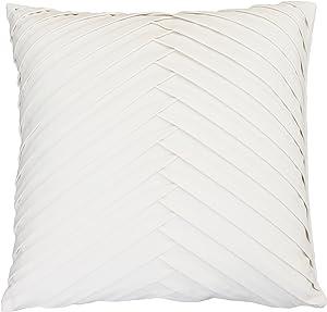 Thro by Marlo Lorenz Th016056003E Decorative Pillow, Soft White