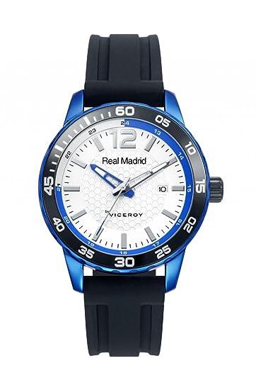 Reloj Oficial del Real Madrid Caballero 40963-05 Aluminio