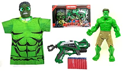 Buy Avengers Infinity War Toy Hulk Playset With Hulk Costume