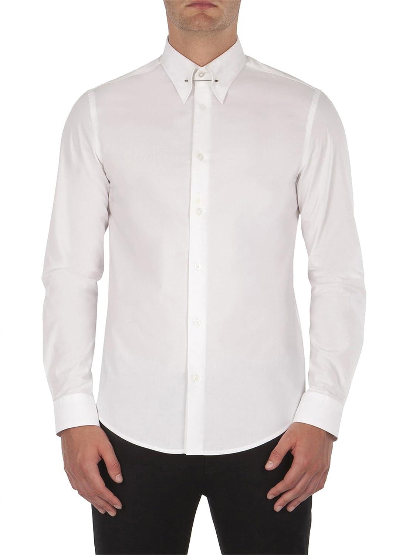 Ben Sherman Mens Mens Collar Pin Shirt In White Xl Ben Sherman
