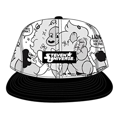 Amazon.com  Steven Universe Lion Toon Boom Snapback Hat  Clothing da43957ed67