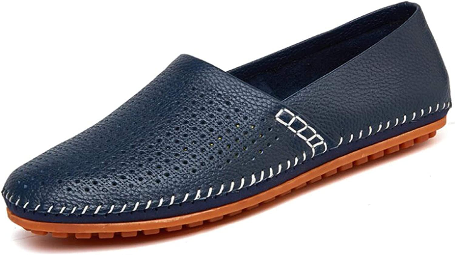Go Tour Mens Classy Slip-On Casual Mocassin Leather Loafers The Go Driving Boat Shoes