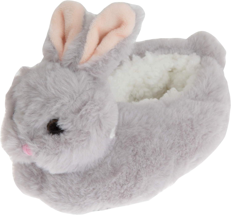 SlumberzzZ Childrens//Kids Fluffy Bunny Rabbit Slippers