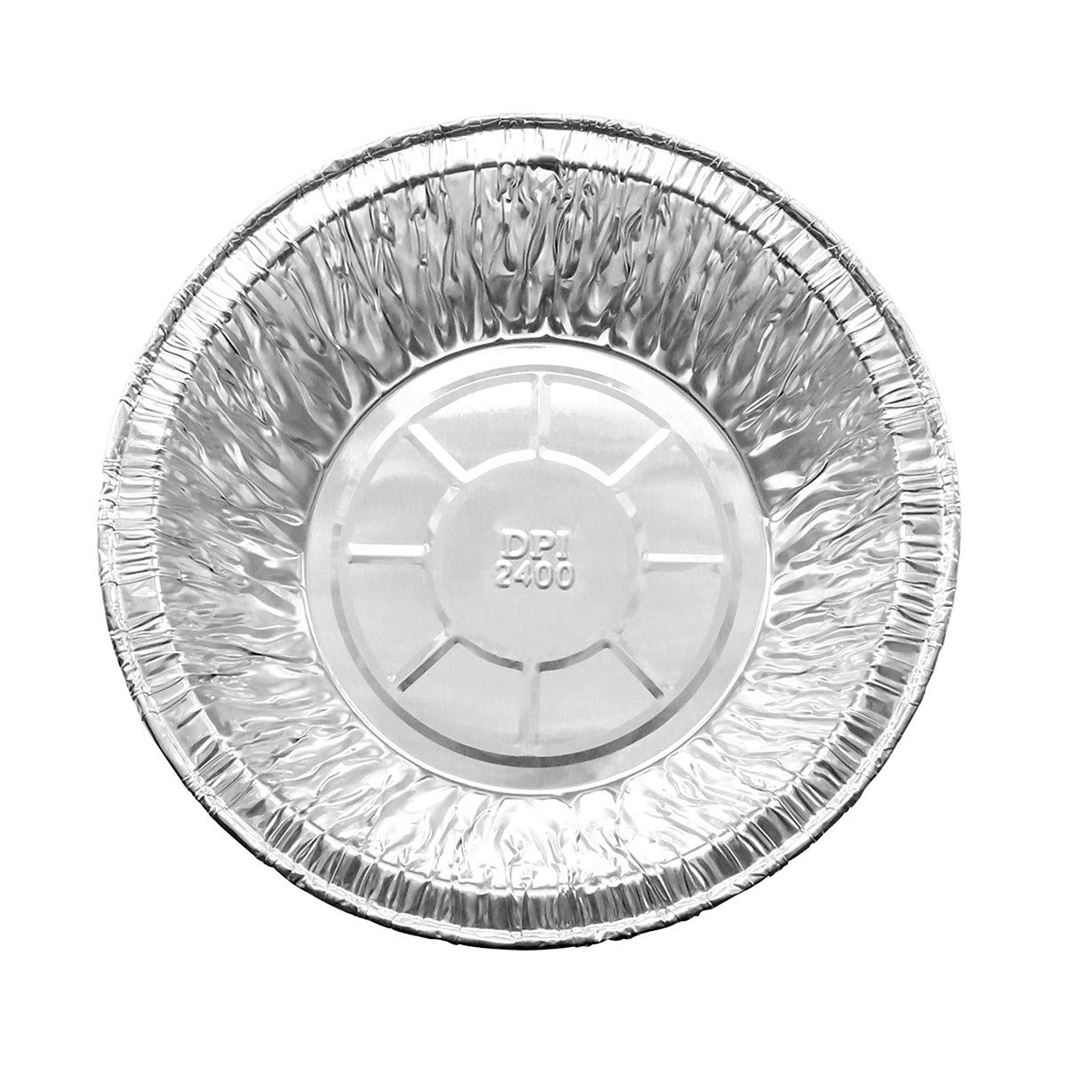 Disposable Aluminum 5 3/4 Extra Deep Meat/Pot Pie Pan #2400 by Durable Packaging (25)