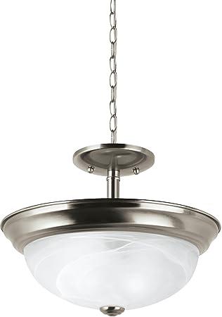 Amazon.com: sea gull lighting windgate níquel cepillado ...