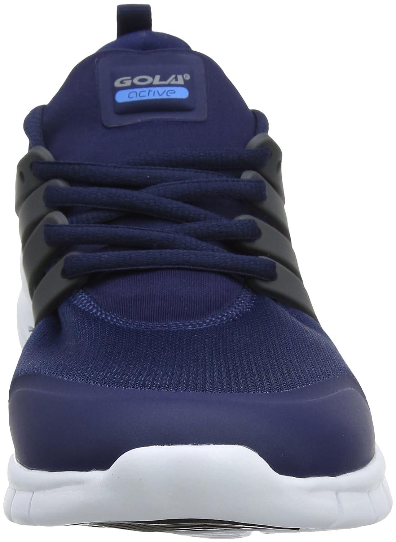Gola Herren Gravity Hallenschuhe, Blau (Navy/Dark Grey/Blue EG), 44 EU