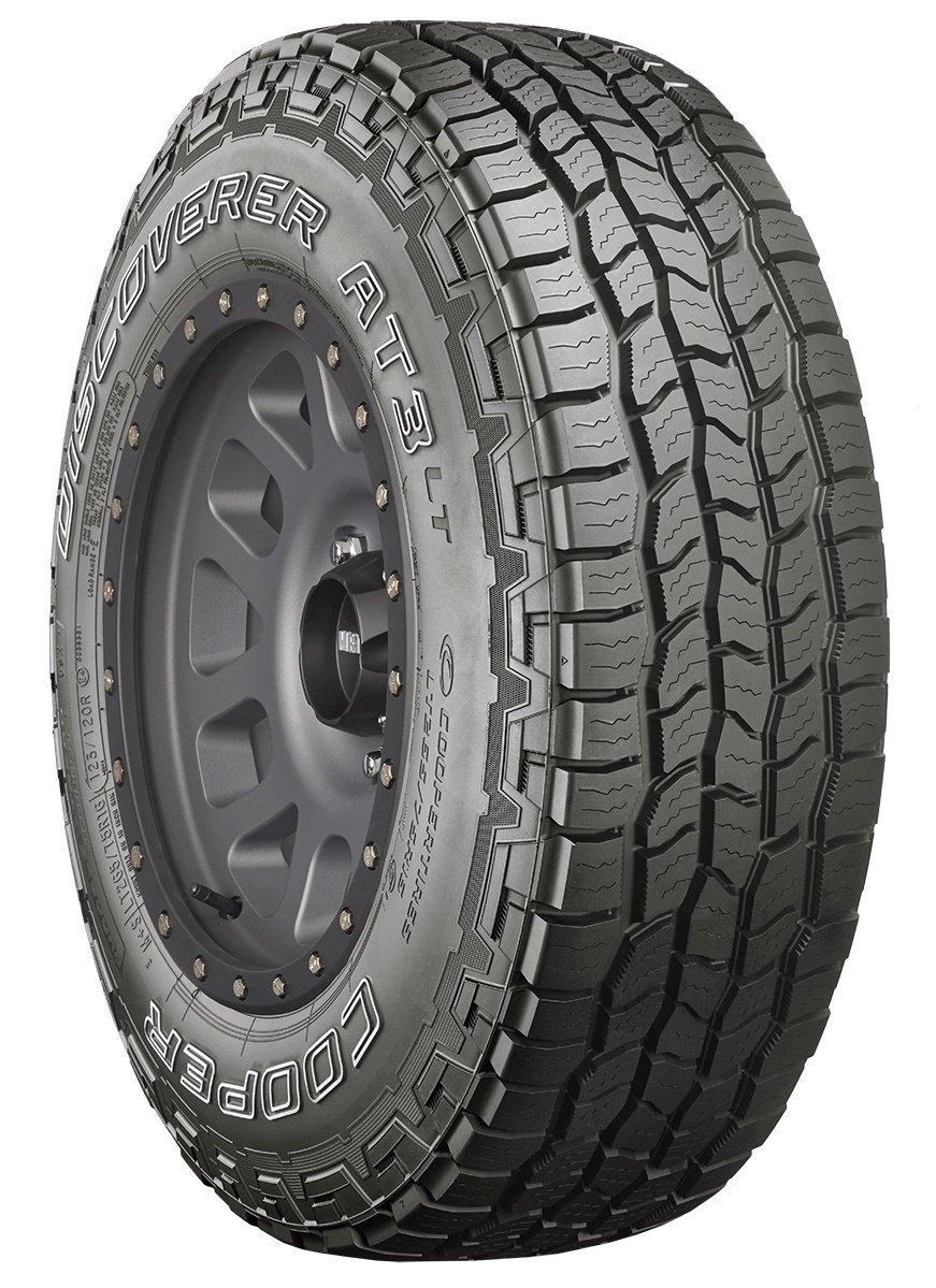 Terrain Radial Tire-265//70R17 121S 10-ply Cooper Discoverer AT3 LT All