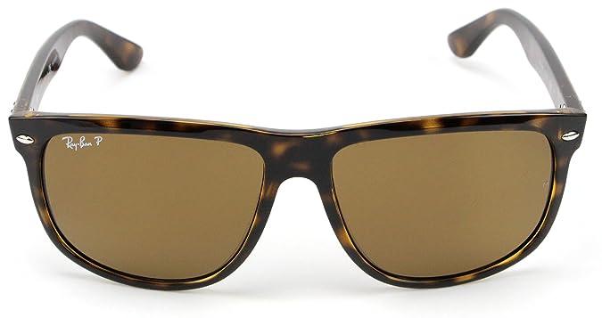 b9763e755f Amazon.com  Ray-Ban RB4147 710 57 Sunglasses Tortoise Frame   Polarized  Brown Lens 60mm  Shoes