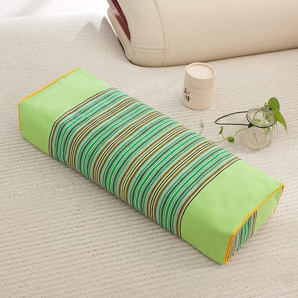 Amazon.com: Peacewish - Almohada rectangular de algodón con ...