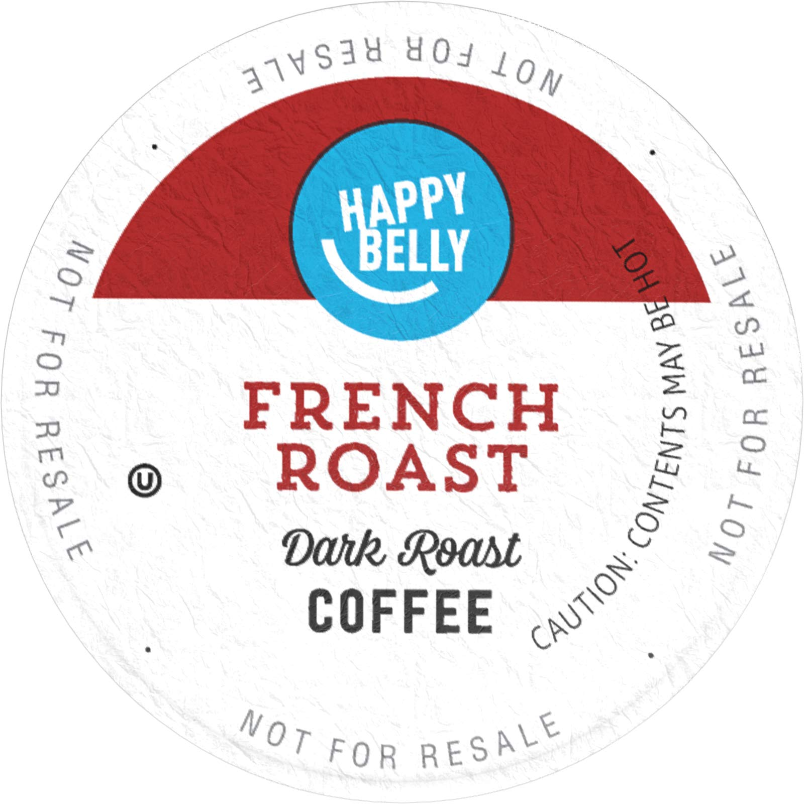Amazon Brand - 100 Ct. Happy Belly Dark Roast Coffee Pods, French Roast, Compatible with Keurig 2.0 K-Cup Brewers by Happy Belly (Image #2)