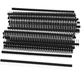 HOBBYPOWER 40pin 2.54mmオス単列ピンヘッダーストリップSingle Row Pin Header Strip (50本)