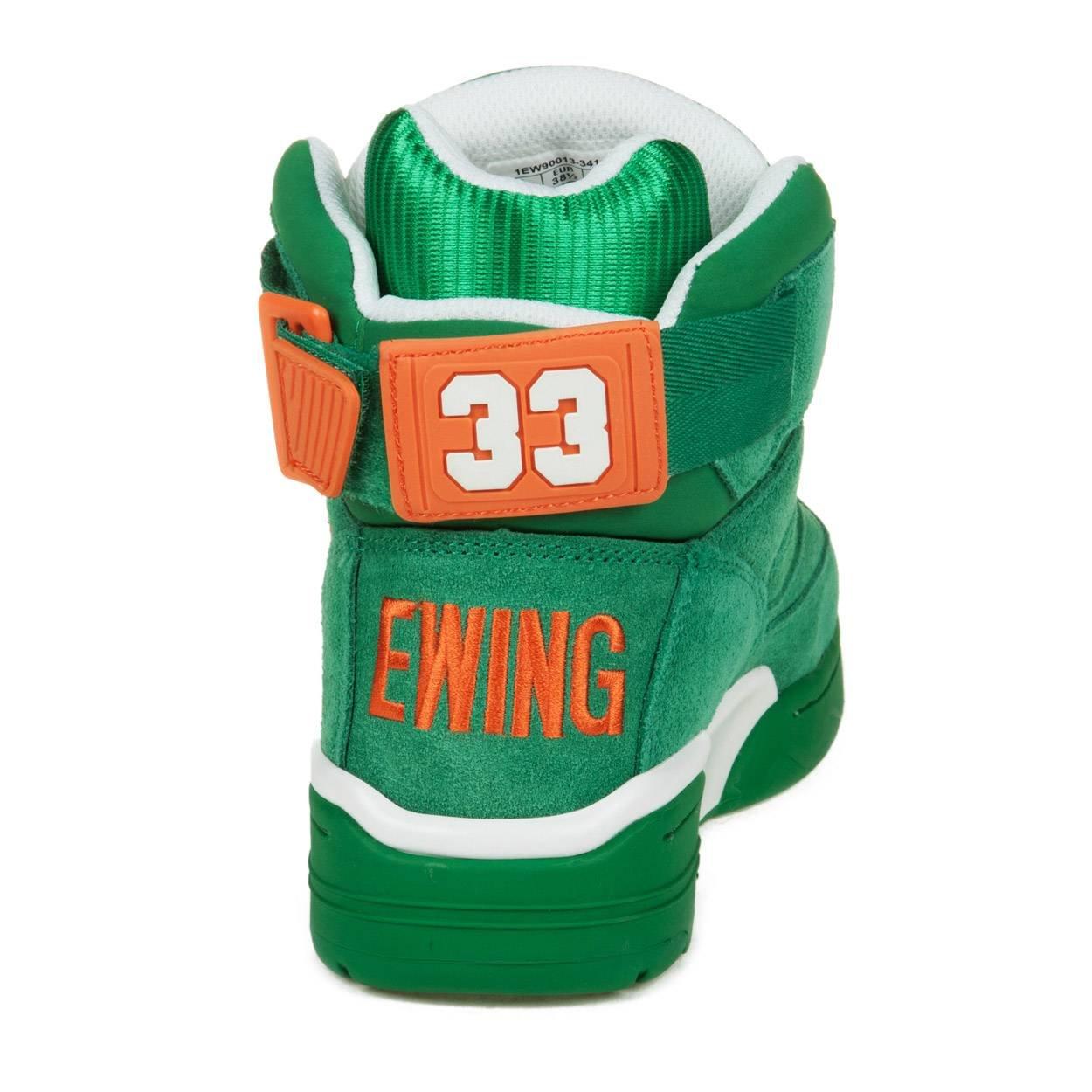 Patrick Ewing - Zapatillas de Baloncesto de Cuero sintético para Hombre Verde Verde: Amazon.es: Zapatos y complementos