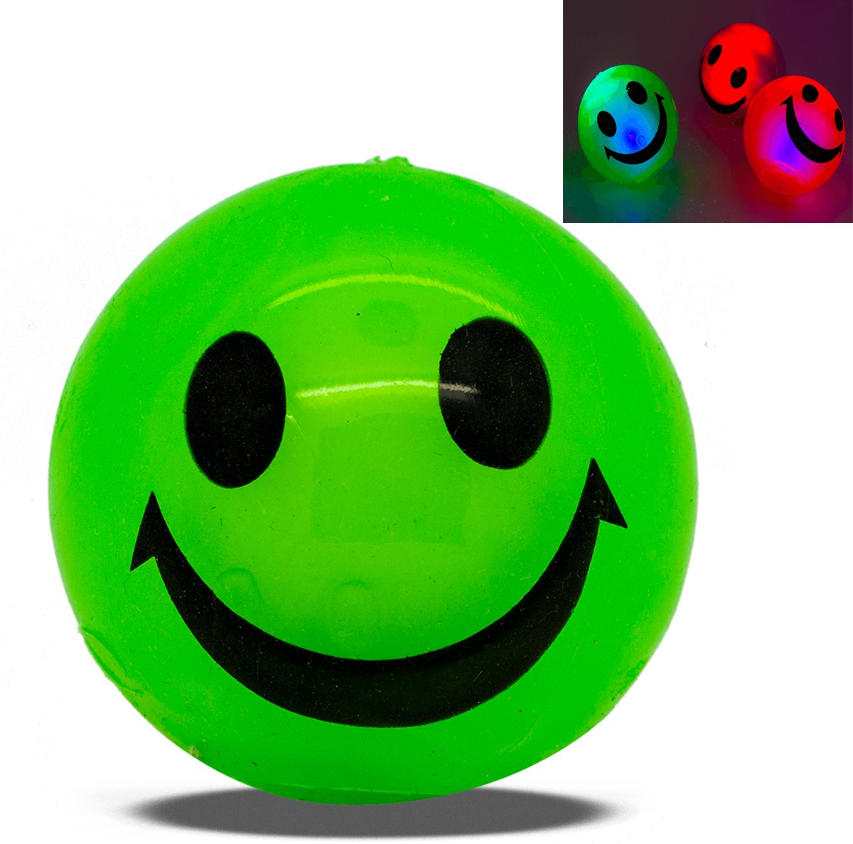 Need For Gift Funtime Gifts Light Up Glitter Balls (Colours Vary) PL4550