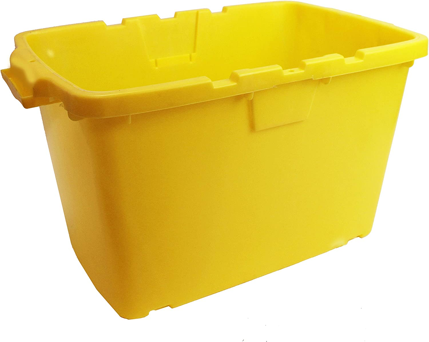 Box /& Black Lid All-Green Coral 55 Litre Yellow Outdoor Kerbside Waste Recycling Box//Storage Box With Various Lid Combinations