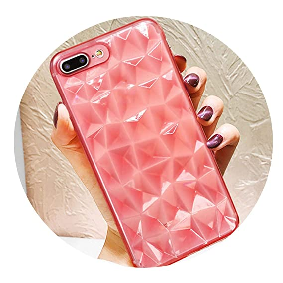 2d50e2bcf1 Image Unavailable. Image not available for. Color: Diamond Texture Case for iPhone  6 6s 7 8 Plus X XR XS Max ...