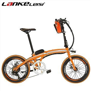 """SMLRO lankeleisi qf600 20 """"Spoke Llantas Eléctrica Bicicleta Montaña Bicicleta Motor 240 W 48"""