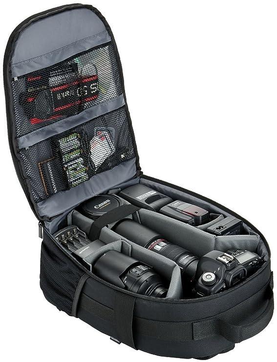Cullmann Vigo Backpack 200 - Mochila para cámara, Color Negro