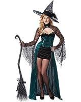 California Costumes Women's Enchantress Sexy Witch Long Dress Costume