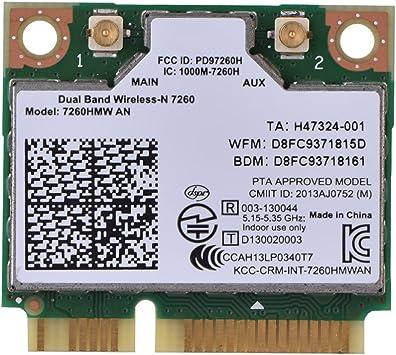 Tarjeta de Red WiFi para Computadora de Escritorio con Ranura PCI-E 2.4GHz 802.11A // G//N 5GHz 300 Mbps Mugast WiFi Adaptador PCI Express