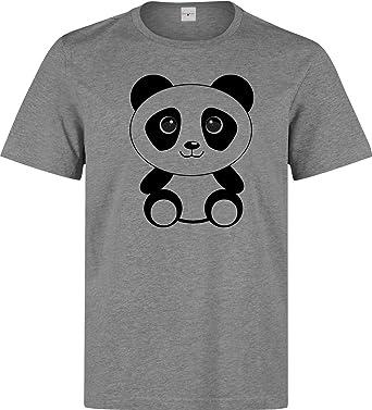 Nothingtowear Panda Baby Cute Cartoon Minimal Men S T Shirt Amazon