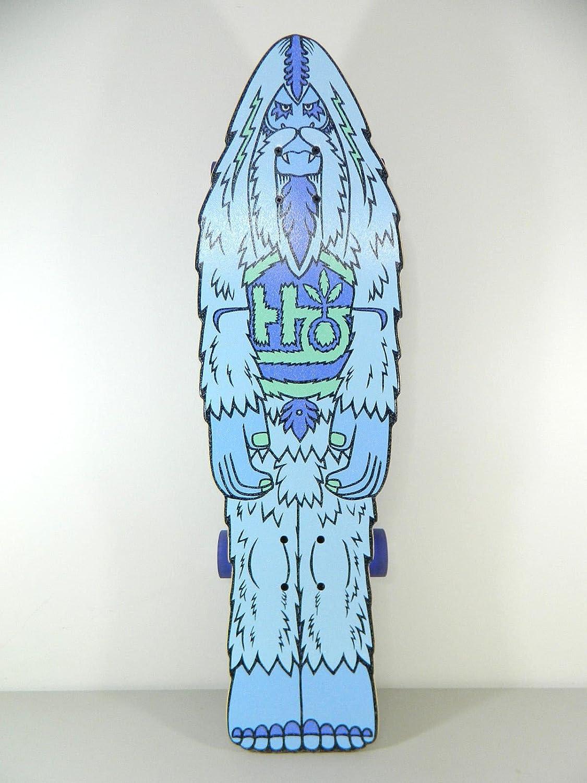 Habitat Bigfoot Yati 30.75 x 9.1 Cruiser Skateboard Complete