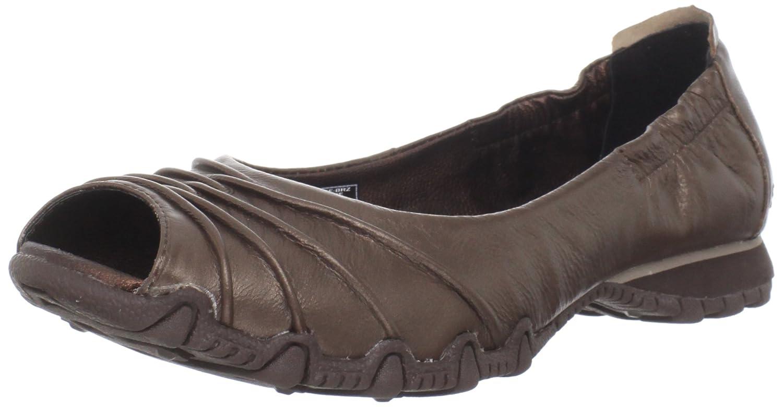 skechers open toe flats