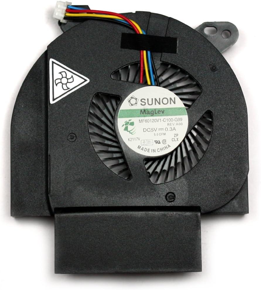 Power4Laptops Replacement Laptop Fan for Dell Latitude E6520