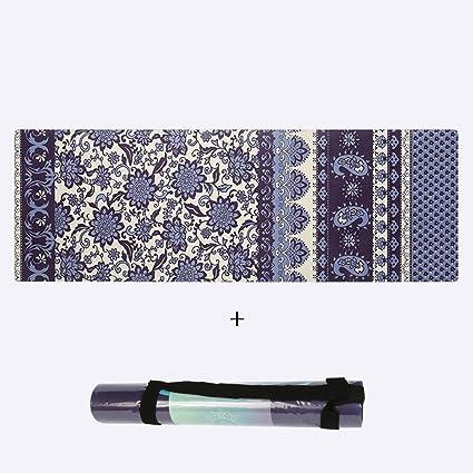 Amazon.com : WT- Natural Rubber Yoga Mat/Long 1780 Wide 610 ...