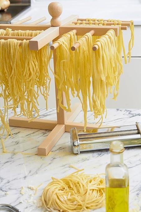 Compra Juego de 1 pasta máquina/máquina para hacer pasta + secador de pasta + Horno + de verduras y + moscada rallador en Amazon.es