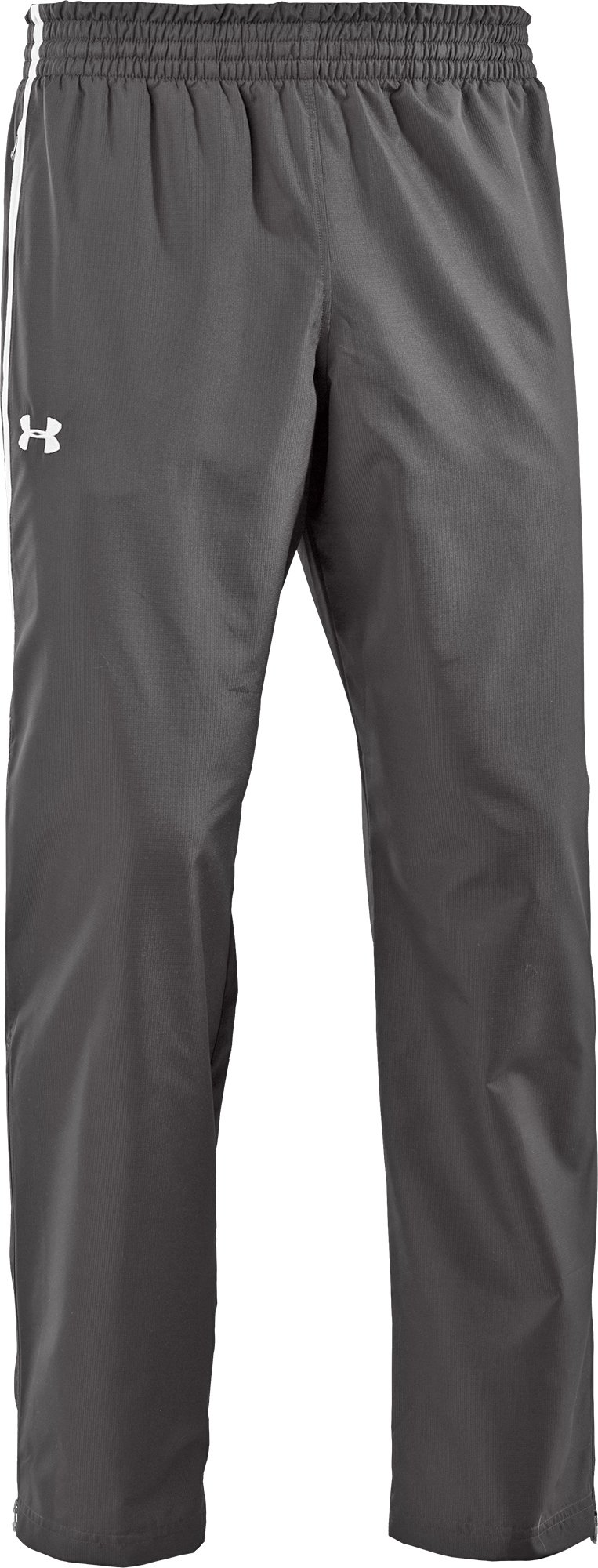 Under Armour Team Essential Woven Men's Warm-Up Pants (Black/White, Small)