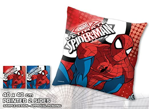 KIDS LICENSING Cojin Spiderman Marvel: Amazon.es: Hogar