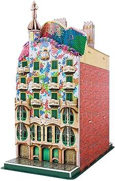 CubicFun 3D Puzzle España Casa Batlló Modelo de construcción Kit ...