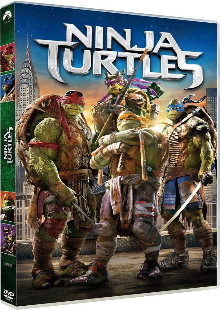 Ninja Turtles [Italia] [DVD]: Amazon.es: Megan Fox, Will ...