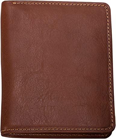 Tony Perotti Italian Leather Front Pocket Bifold Credit Card Wallet