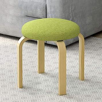 Amazon.com: LifeX Modern Round Sofa Stool Living Room Dining Table ...